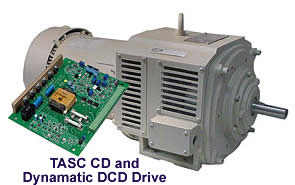 TASC CD and Dynamatic DCD Drive