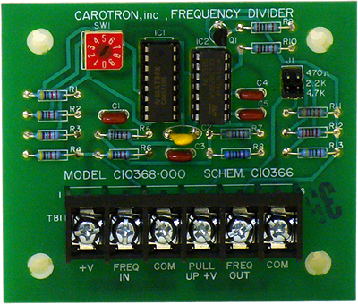 Frequency Divider Card Model C10368-000