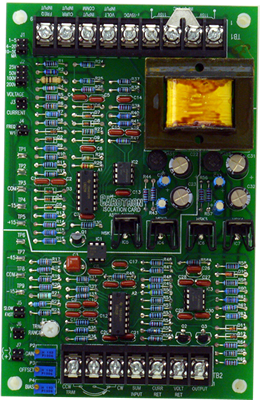 Signal Isolation Card Model C10209-000