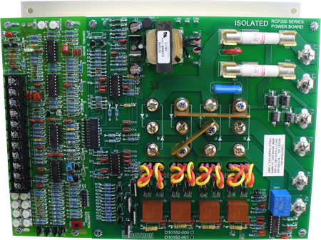 DC Motor Controls, RCP200 Series by Carotron, Regen Drives