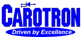 Carotron Logo with Driven by Excellence